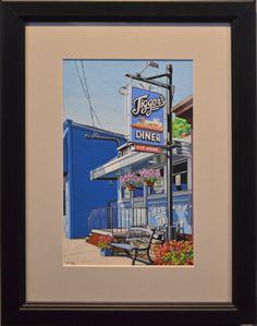 "Judge's Award: Bob Lavoie, ""Eat Here"""
