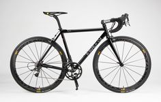 Firefly Rapha edition. All I ask for is a basic ti cx bike with hydraulic disc brakes. Doesn't seem too tough.
