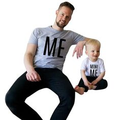 73f005dd New Arrival Family Look Summer ME and MINI ME Pattern Family t shirt Father  and Son Clothes TopTee 2017 Family Matching Outfits
