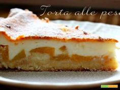 Torta alle pesche  #ricette #food #recipes