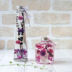 Voss Bottle, Water Bottle, Flower Bottle, Belleza Natural, Deco, Diy And Crafts, Bath Products, Homemade, Mall