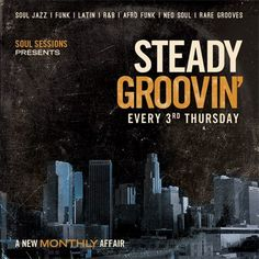 Soul Sessions brings their crew of tasteful DJ's to Monty tonight for Steady Groovin'! Just once a month here, so it's a special evening! No cover, at 10.
