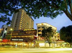Orchard Parade Hotel in Singapore