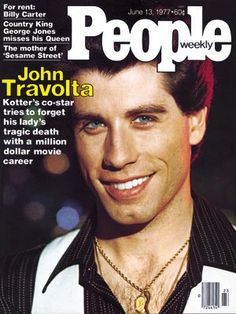 photo | Saturday Night Fever, 1970, Heartthrobs, John Travolta Cover, Coping and Overcoming Illness, When They Were Young, John Travolta