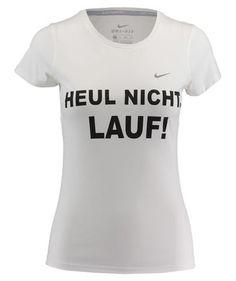 Damen Laufshirt 'Heul nicht, lauf! Wmns Miler S/S'