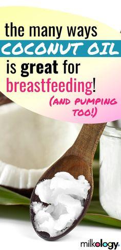 8 Ways To Use Coconut Oil For Breastfeeding — Milkology®