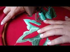Bordado 2 - YouTube - Vintage Machine Embroidery