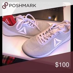 6f9092953e6 Shop Women s Reebok Gray size Athletic Shoes at a discounted price at  Poshmark. Description  Reebok Nano Sold by bridocimo.