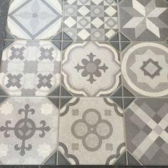 Patchwork dekor tegels