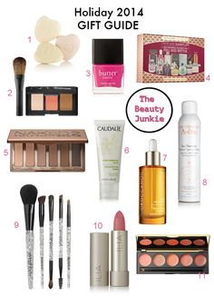 Holiday 2014 gift ideas under $65 for the beauty junkie in your life on The Key To Chic. #giftguide