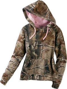 Realtree® Women's Camo Fleece Hoodie Zoom : Cabela's