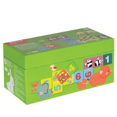Домино-Числата и животните-детска забавно-образователна APLI Kids игра