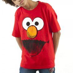 Bioworld Big Boys' Sesame Street Elmo Shirt, Red, Large by BioworldTake for me to see Bioworld Big Boys' Sesame Street El