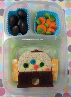 Bento Lunch: Gumball Machine #bento @EasyLunchBoxes