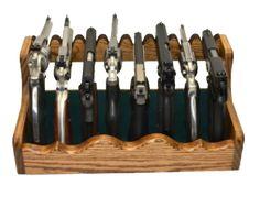 horizontal pistol racks