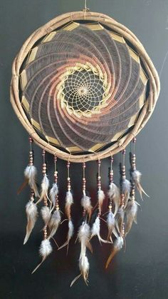 Spiral Dream Catcher