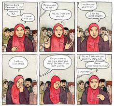 Seattle Comics Journalist Sarah Glidden's New Graphic Novel Isn't Afraid to Admit Journalism Is Weird. 'Rolling Blackouts' follows the author and her peers at 'The Globalist' through Syria, Iraq, and Turkey.