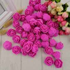 Cheap cheap wedding decor, Buy Quality fake flowers rose directly from China fake flowers Suppliers: PE Foam fake flower roses head artificial flowers cheap wedding decoration for scrapbooking gift box diy wreath Multi-use Cheap Wedding Decorations, Cheap Wedding Flowers, Diy Party Decorations, Wrist Flowers, Fake Flowers, Artificial Flowers, Diy Crafts Scrapbook, Scrapbooking Diy, Diy Gift Box