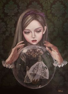 Art is a Feeling - backwrdblackbrd:   Mao Hamaguchi