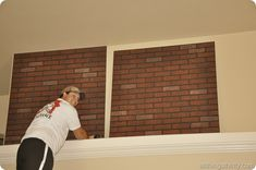 How to install faux brick panels and where to buy them! Plus tips and tricks to make the job faster and easier.