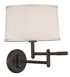 Modern Space-Saving Swing-Arm Wall-Mounted Reading Lamp