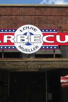 Louie Mueller BBQ - Taylor, TX. Currently ran by 3rd generation family Wayne Mueller. Great guy.