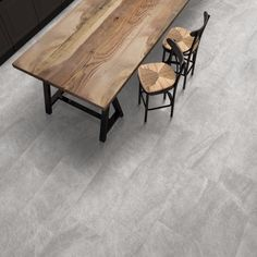 Mimica Grey Emperador Gloss In Situ Stone Tile Flooring, Natural Stone Flooring, Grey Flooring, Stone Tiles, Kitchen Flooring, Hardwood Floors, Best Flooring, Flooring Options, Mandarin Stone