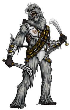 Lotatha, Wookiee madclaw gladiator