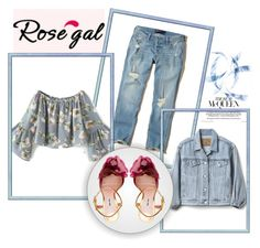 """Rosegal"" by dajana-miletic ❤ liked on Polyvore featuring Hollister Co., Gap and Miu Miu"