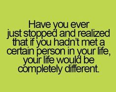 Have You Ever Realized