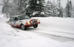 Volvo 242 Rally in Norway