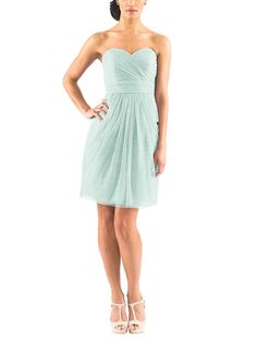 DescriptionJenny YooKaraCocktaillength bridesmaid dressCriss…