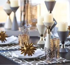 15 Modern Christmas Table Setting Ideas – 212 Concept - Modern Living