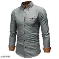 Checkout this latest Shirts Product Name: *Stylish Cotton Regular Fit Men's Shirt* Fabric: Cotton Sleeve Length: Long Sleeves Pattern: Solid Multipack: 1 Sizes: S, M, L, XL Country of Origin: India Easy Returns Available In Case Of Any Issue   Catalog Rating: ★4 (299)  Catalog Name: Classy Partywear Men Shirts CatalogID_1665231 C70-SC1206 Code: 545-9467847-7041