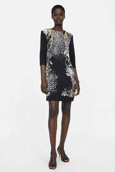 Brillo Otoño Zara Colección Serpiente Estampado Minifalda qEWwAPH7E