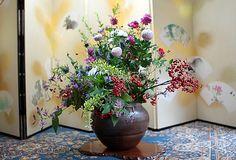 Ikebana - Japanese flower arrangement -