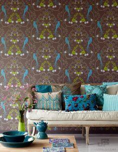 #JFFabrics | Wallcoverings | Paradiso | Pattern 5038 | Colour 37W6191
