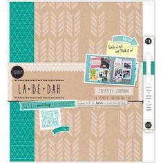 La De Dah Journey Journal by Grant Studios. Like K&COMPANY Smash Folios but I think prettier.