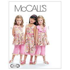 Children's/Girls' Bolero, Dress, Jumpsuit and Pants-2-3-4-5 Pattern