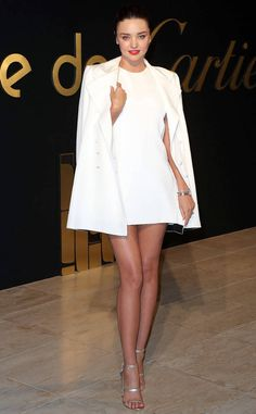 Miranda Kerr from The Big Picture: Today's Hot Photos  White-hot!  The model shows some leg at the Panthere De Cartier Party in Los Angeles.