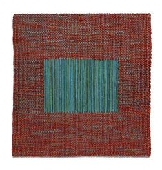 from Sheila Hicks: 50 Years by Joan Simon and Susan C. Weaving Textiles, Weaving Art, Loom Weaving, Tapestry Weaving, Hand Weaving, Textile Fiber Art, Textile Artists, Sheila Hicks, Institute Of Contemporary Art