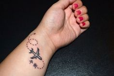 wanderlust airplane tattoo - Pesquisa Google