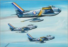 The first Sabres were delivered to 2 Squadron at Osan in January painting by Derek Dickens. Wings Etc, South African Air Force, Military Drawings, Battle Rifle, Aircraft Painting, Airplane Art, Cheetahs, American Soldiers, Aviation Art