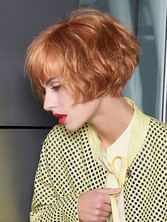 Best Bob Hairstyles & Haircuts for Women - Hairstyles Trends Short Bobs With Bangs, Bob With Bangs, Short Hair Cuts, Haircuts With Bangs, Short Bob Bangs, 80s Short Hair, Curly Short, Shaggy Bob Hairstyles, Cool Hairstyles