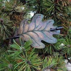 "Handmade barrette from natural leather.   Barrette is 15 x 9 cm (6"" x 3,5"") and wood hair stick is 15,5 cm ( 6,1"") in length.  Materials: leather, wood ( stick).    Thank you for visiting my shop! 