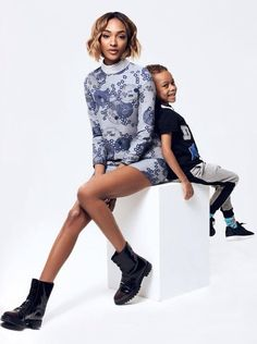 Jourdan Dunn and Her Son Star in the Cutest Spread via @WhoWhatWear