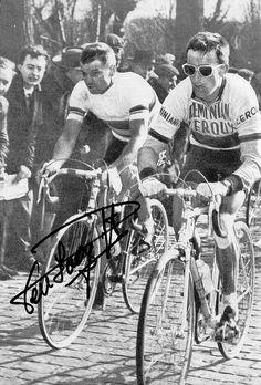 Tommy Simpson and Rik Van Looy. by Paris-Roubaix, via Flickr