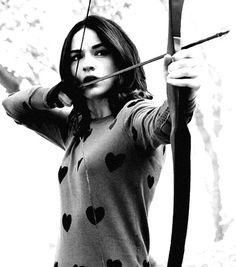 Allison Argent- this is my fav pic because it shows the hunter side of Allison