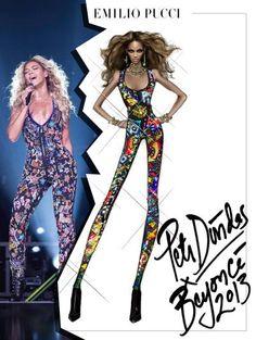 Zien! H&M's zomercollectie 2014, Beyoncé in Pucci & Poppy voor Vero Moda