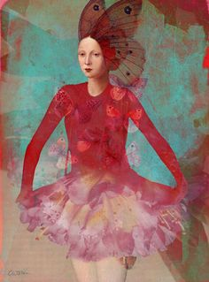 'Dreaming in red' von Catrin Welz-Stein